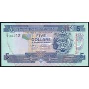 5 долларов 2008 год . Соломоновы острова