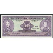 10 боливаров 1995 год . Венесуэла