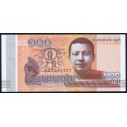 100 риелей 2014 год .Камбоджа (UNC)