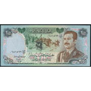 25 динар 1986 год.  Ирак (из оборота XF)