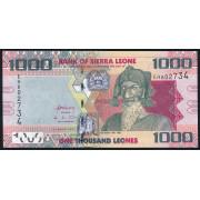 1000 леоне 2013 год .  Сьерра-Леоне
