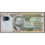 50 метикал  2011 год (Полимер) .  Мозамбик