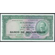 100 эскудо 1961 год . Мозамбик