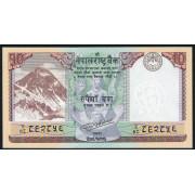 10 рупий 2017  год . Непал