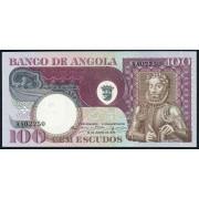 100 эскудо 1973 год . Ангола