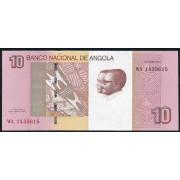 10 кванза 2012 год . Ангола
