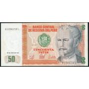 50 инти 1987  год . Перу
