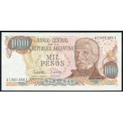 1000  песо 1976 год . Аргентина