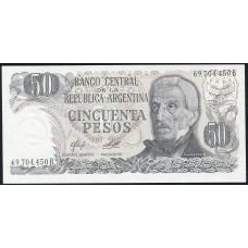 50  песо 1976 год . Аргентина