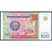 500 сум 1999 год .  Узбекистан