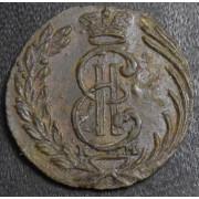 полушка 1768 год . Сибирская монета