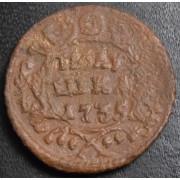 полушка 1735 год