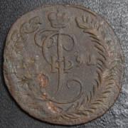 Денга 1791 год . КМ