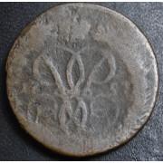 1 копейка 1757 год