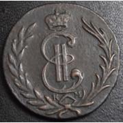 Копейка 1777  год . Сибирская монета