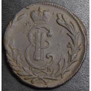 Копейка 1768  год . Сибирская монета