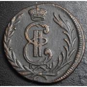 Копейка 1778  год . Сибирская монета