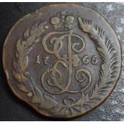 2 копейки 1765  год . СПМ