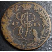 2 копейки 1766  год . ЕМ