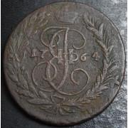 2 копейки 1764  год . ММ