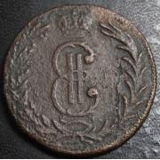 2 копейки 1768  год . Сибирская монета