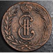 2 копейки 1777  год . Сибирская монета