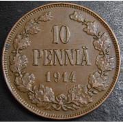 10 пенни 1914 год