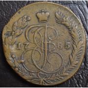 5 копеек 1785 год ЕМ