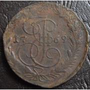 5 копеек 1769 год ЕМ