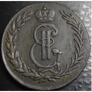 5 копеек 1774 год . Сибирская монета