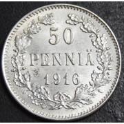 50 пенни 1916 год