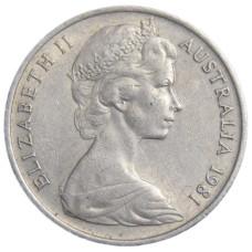 10 центов 1981 год  , Австралия
