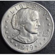 1 доллар 1979 год .  Сьюзен Энтони