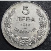 5 левов 1930 год  . Болгария