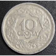 10 грошей  1923  год  Польша