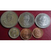 Набор монет  Маврикий  1987 -2003 г.г