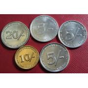 Набор монет  Сомалиленд 2002-2005 г.г
