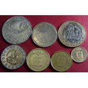 Набор монет Португалия 1986-97 г.г (из оборота. VF)