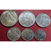 """Набор монет  Бразилия  """"Свобода"""""""