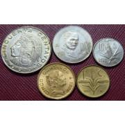 Набор монет  Мексика 1957-1979 г.г