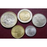 Набор монет Колумбия 2017-2018 г.г