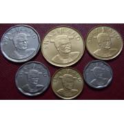 Набор монет  Свазиленд 2015 год