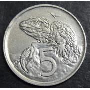5 центов 1978 год . Новая Зеландия