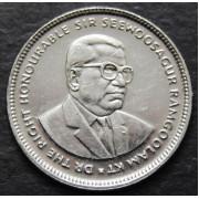 20 центов  2010 год . Маврикий