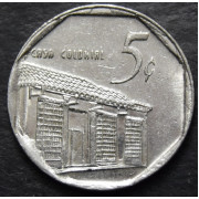 5 сентаво  2002 год.Куба