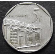 5 сентаво  2000 год.Куба