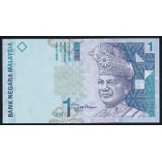 1 ринггит 1998-2001 год .  Малайзия