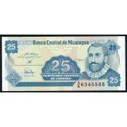25 сентаво 1991 год .  Никарагуа