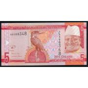 5 даласи 2015 год . Гамбия