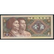 1 цзяо 1980 год . Китай (UNC)